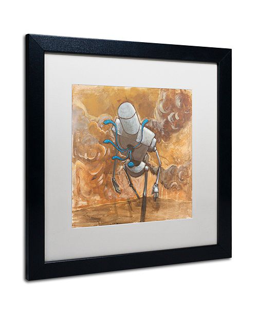 "Trademark Global Craig Snodgrass 'The Trooper' Matted Framed Art, 16"" x 16"""