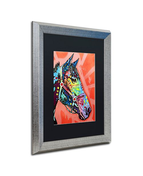 "Trademark Global Dean Russo 'WC Horse 3' Matted Framed Art, 16"" x 20"""