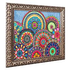 Hello Angel 'Mandala Parade' Ornate Framed Art