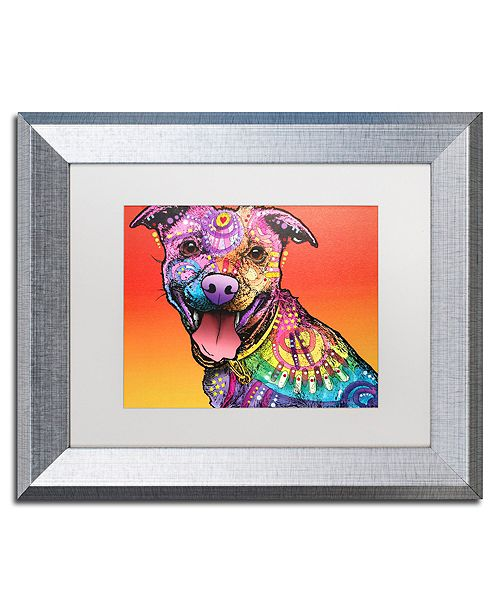 "Trademark Global Dean Russo 'All Smiles' Matted Framed Art - 11"" x 14"""