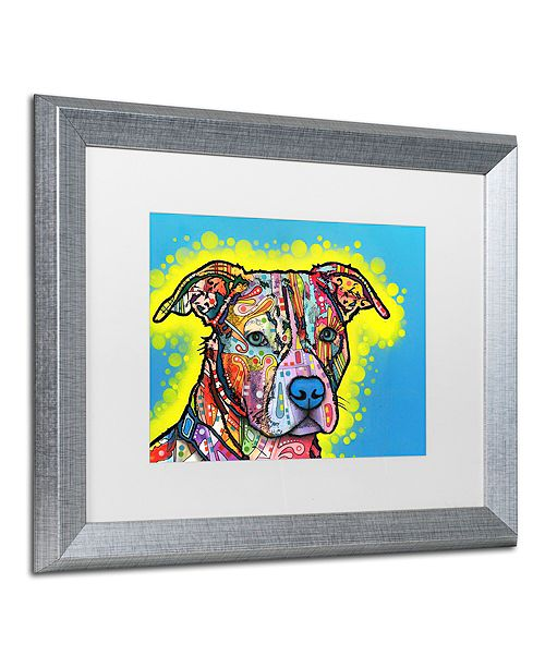 "Trademark Global Dean Russo 'Painted Pit' Matted Framed Art, 16"" x 20"""