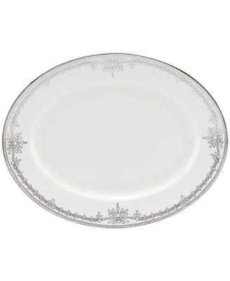 Dinnerware, Empire Pearl Oval Platter