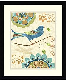 Amanti Art Eastern Tales Birds I Framed Art Print
