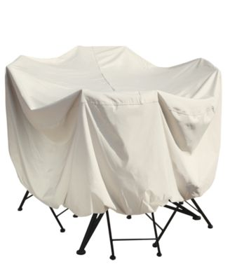 """Outdoor  Patio Furniture Cover, 36"""" Bistro/Cafe Table & Chairs, Quick Ship"""