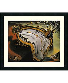 Amanti Art Melting Watch  Framed Art Print