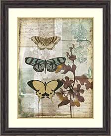 Music Box Butterflies I Framed Art Print