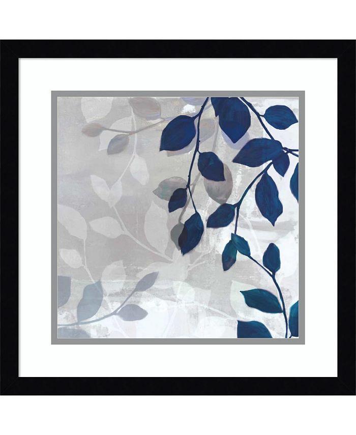 Amanti Art - Leaves in the Mist I 17x17 Framed Art Print