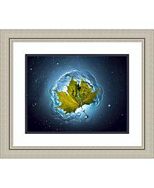 Amanti Art Cosmic Autumn  Framed Art Print