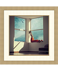 Amanti Art Room With A View Framed Art Print