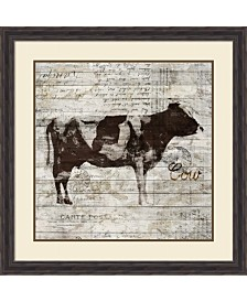 Amanti Art Cow Framed Art Print