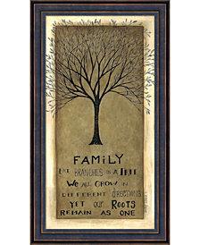 Amanti Art Family Tree  Framed Art Print