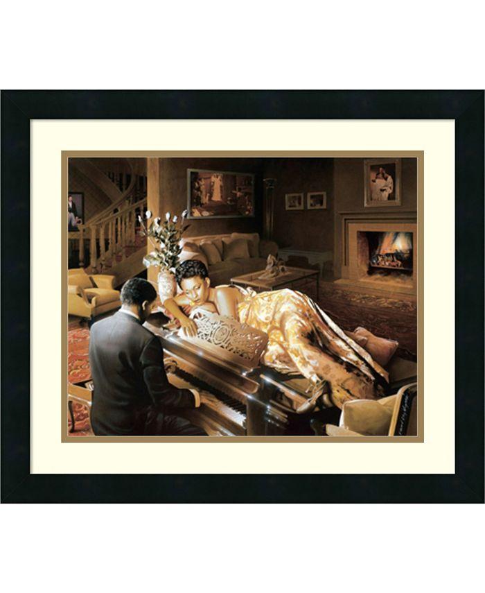 Amanti Art - Sonata 22x19 Framed Art Print