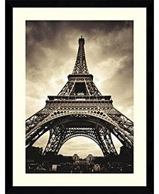 Amanti Art Eiffel Tower  Framed Art Print