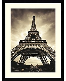 Amanti Art Eiffel Tower  Framed Art Print