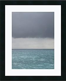 Bleu 8 Framed Art Print