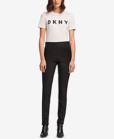 DKNY Pinstriped Pants, Created for Macy's