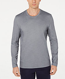 Tasso Elba Men's Supima® Blend Long-Sleeve Crewneck T-Shirt, Created for Macy's