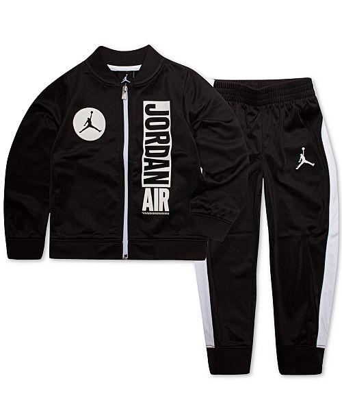 Jordan Toddler Boys 2-Pc  Air-Print Jacket & Pants Set & Reviews
