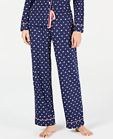 Charter Club Plus Size Knit Pajama Pants, Created for Macy's