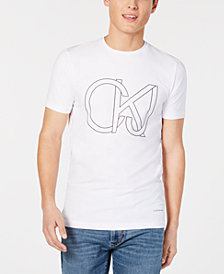 Calvin Klein Jeans Men's Slim-Fit Logo T-Shirt