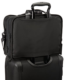 Tumi Men's Alpha T-Pass Laptop Briefcase