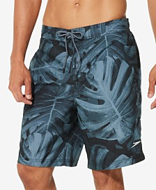 "Speedo Men's Kalo Palm 9"" E-Board Swim Trunks"