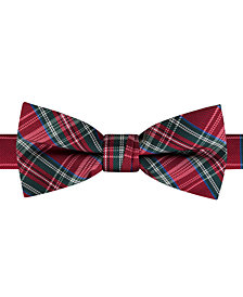 Tommy Hilfiger Little Boys Tartan Plaid Bow Tie