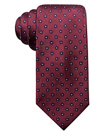 Club Room Men's Sterling Classic Floral Silk Tie, Created for Macy's