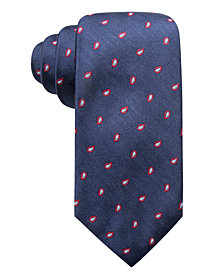Club Room Men's Woolsey Pine Classic Paisley Silk Tie, Created for Macy's