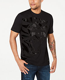 Sean John Men's Pieced Panther Graphic T-Shirt