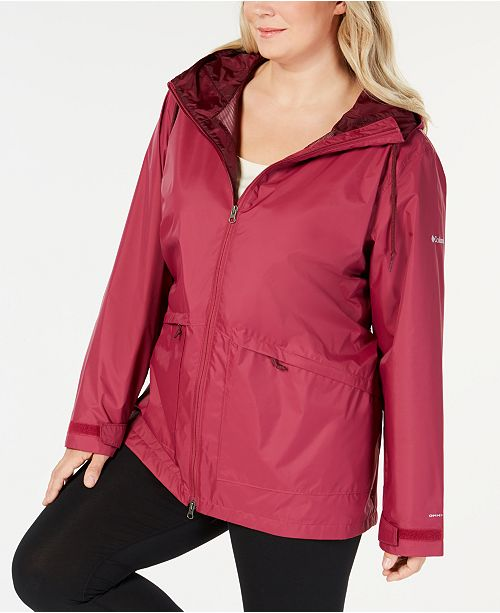 Columbia Plus Size Arcadia Hooded Jacket