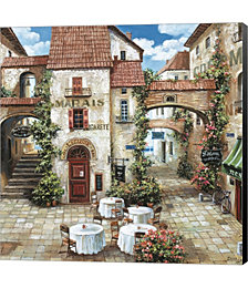 Le Marais by Judy Shelby Canvas Art