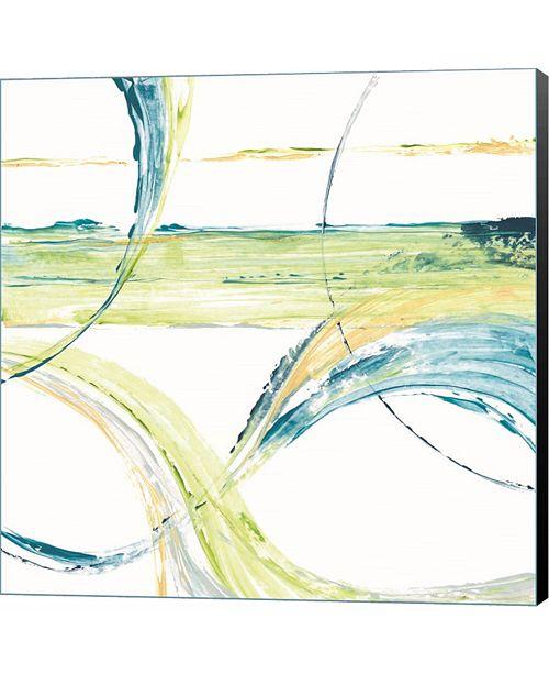 Metaverse Carousel II by Michael Brey Canvas Art