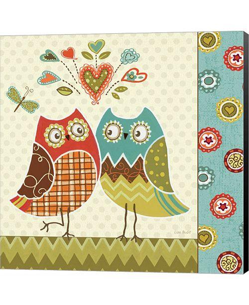 Metaverse Owl Wonderful II by Lisa Audit Canvas Art