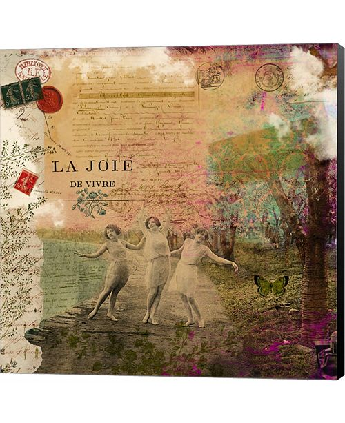 Metaverse Joie De Vivre by Sandy Lloyd Canvas Art