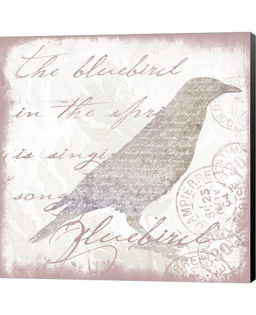 Metaverse Nature Set Bluebird by Andrea Haase Canvas Art