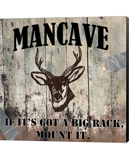Metaverse Mancave II by Mindy Sommers Canvas Art