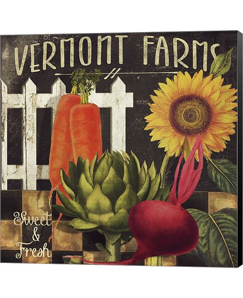Metaverse Vermont Farms VIII by Color Bakery Canvas Art