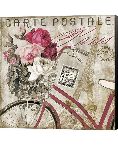 Metaverse Postale Paris I by Color Bakery Canvas Art