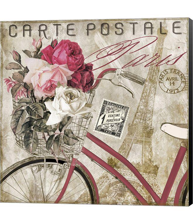 Metaverse Postale Paris I by Color Bakery Canvas Art