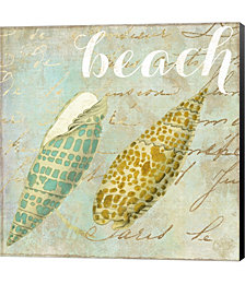 Turquoise Beach II by Color Bakery Canvas Art