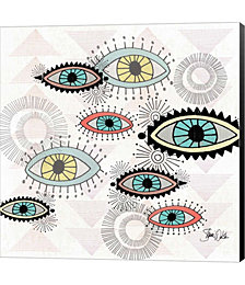 Eyes I by Shanni Welsh Canvas Art