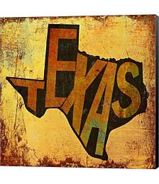 Texas by Art Licensing Studio Canvas Art