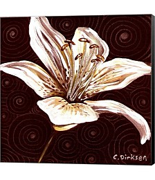 Tiger Lily 1 by Cherie Roe Dirksen Canvas Art