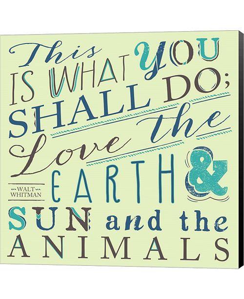 Metaverse Walt Whitman by Longfellow Designs Canvas Art
