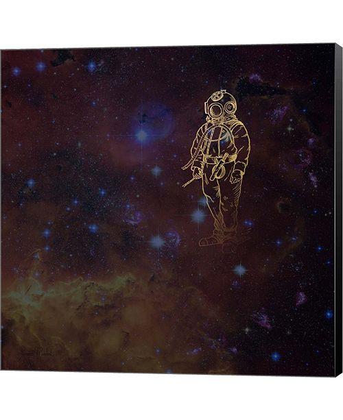 Metaverse Universe Diver by Ramona Murdock Canvas Art