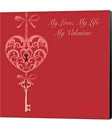 My Valentine by P.S. Art Studios Canvas Art