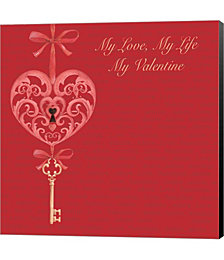 My Valentine by P.S. Art Studios Canvas Art