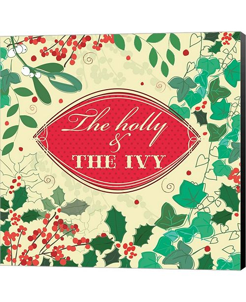 Metaverse The Holly & The Ivy by P.S. Art Studios Canvas Art