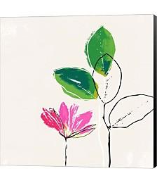 Spring Flower by Linda Woods Canvas Art